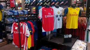 Soccer shirts in New York......really!?