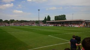Borehamwood v Arsenal, Saturday July 19th 2014