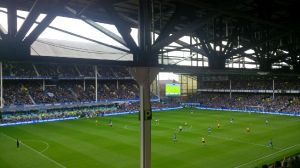 Away End view Goodison Park