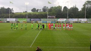 Kick-off approaches at The New Lawn