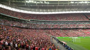How a Wembley 'end' should look