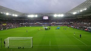 Our latest Away End view
