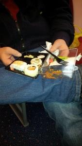Sushi......a bit posh