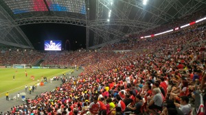 Singapore is red & white