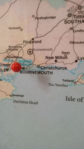 I've been to Bournemouth!