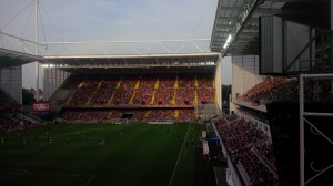 Away End view