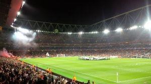 That Champions League night atmosphere