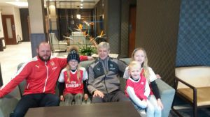 Mr Wenger and friends